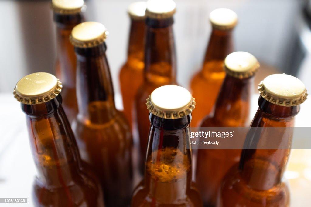 Beer Bottles : Stock Photo