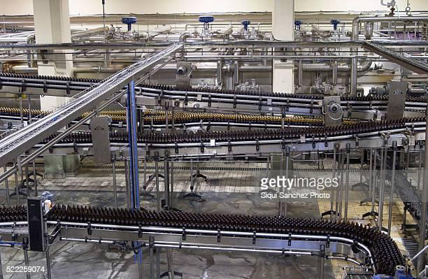 Beer Bottling plant. Málaga, Spain