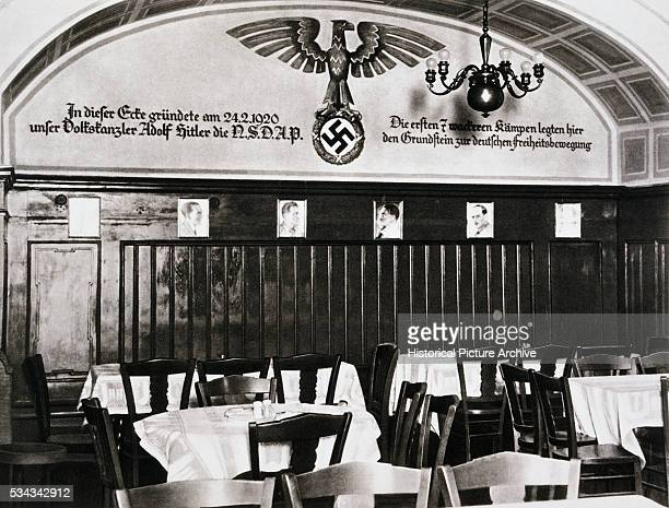 Beer Cellar in Munich Where Hitler Founded the National Socialist or Nazi Party in 1920