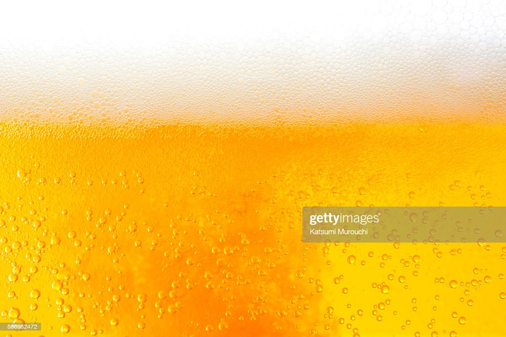 Beer close-up background : Stock Photo