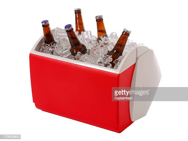 beer cooler - esky stock photos and pictures