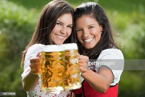 Beer Festival in traditionellen Tracht Mode, Dirndl, Oktoberfest (XXXL