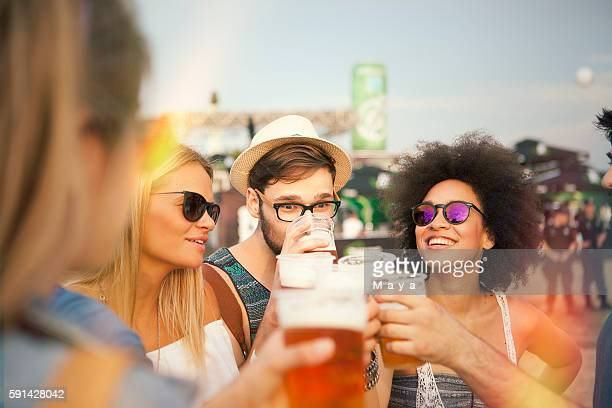 beer festival - music festival stock pictures, royalty-free photos & images