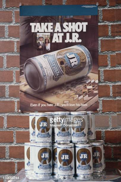 JR beer is used to market the TV soap 'Dallas' 1980