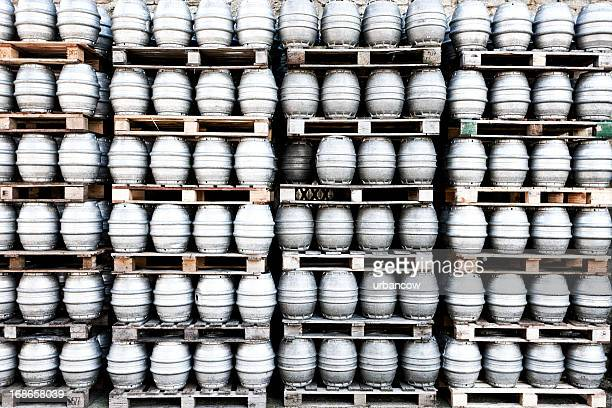 beer keg storage - drum container stock pictures, royalty-free photos & images