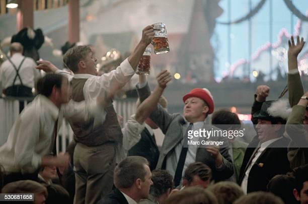 Beer Lovers at Oktoberfest