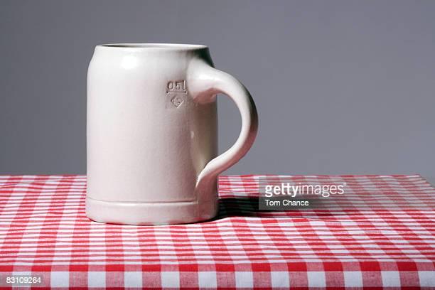 Beer mug, close-up