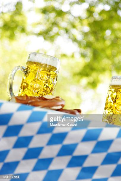 Beer on a Bavarian Table