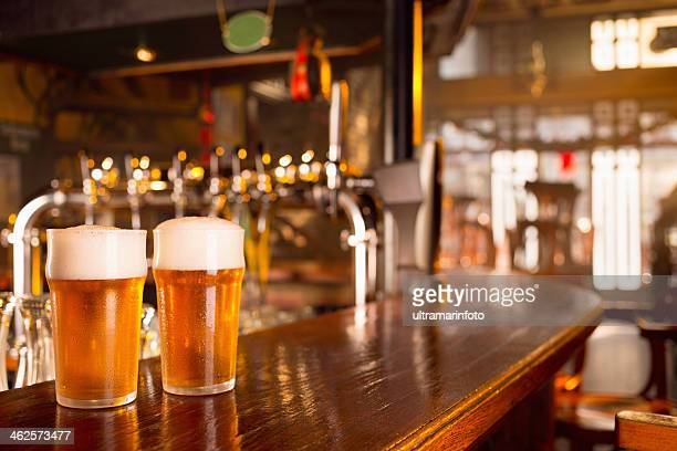 beer - two objects stock photos and pictures