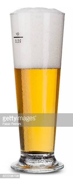 beer - pilsner stock photos and pictures