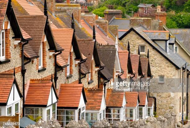 UK, Beer, row of terraced houses