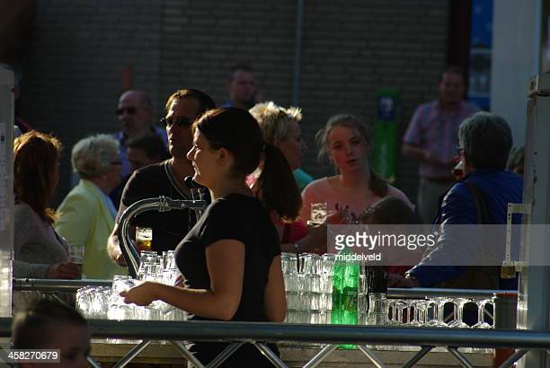 Beer tap at the World Music Concours event Kerkrade