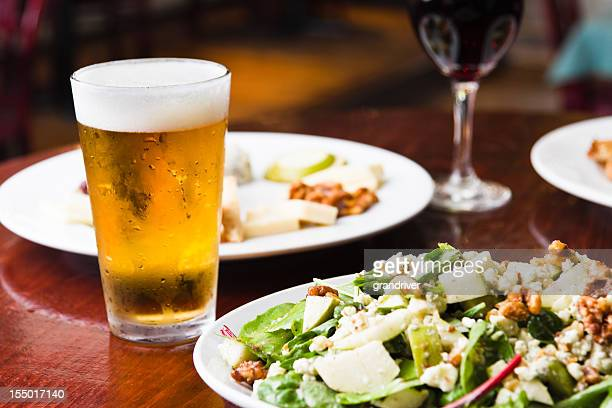 Beer Wine Saladsand Appetizer