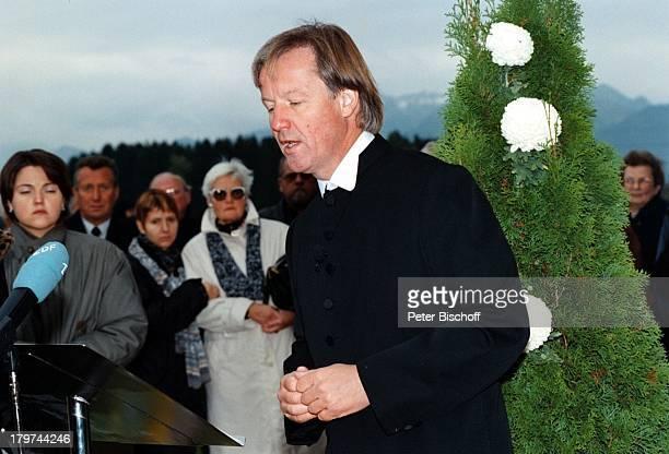 Beerdigung von Professor Julius HackethalTrauerfeierTVPfarrer Fliege
