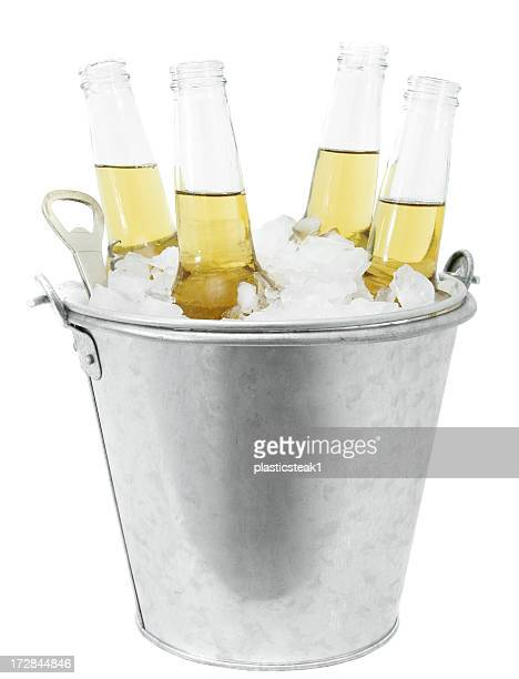 Beers in a Bucket of Ice