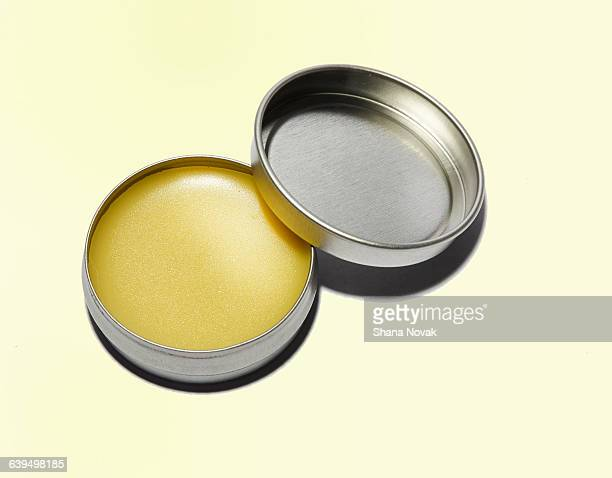 beeswax lip balm - lip balm stock pictures, royalty-free photos & images