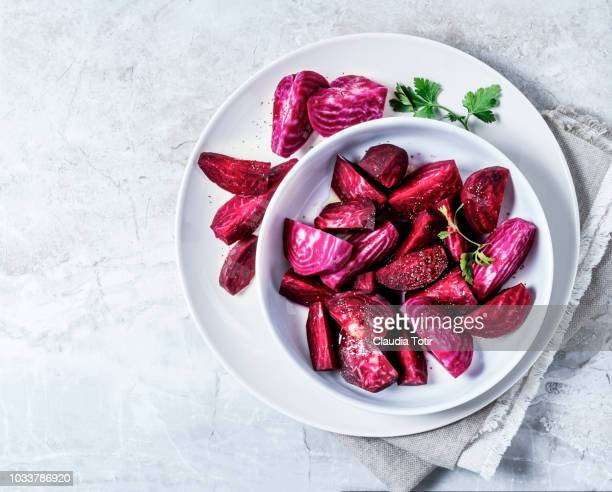 beet salad - root vegetable stock pictures, royalty-free photos & images