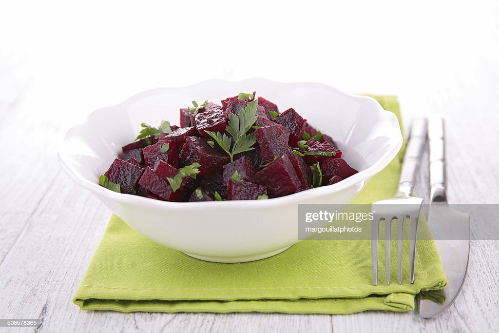 beet salad : Stock Photo
