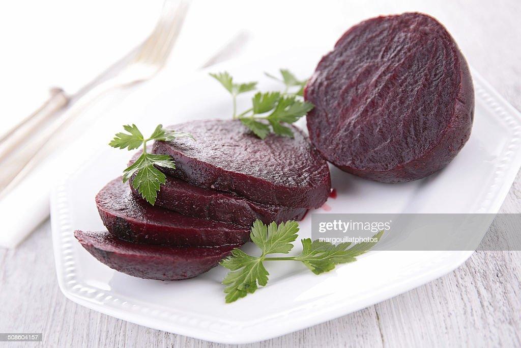 beet salad : Stock Photo
