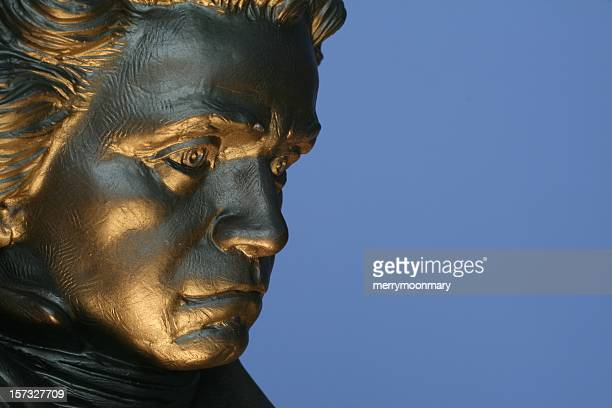 beethovan  statue 2 - beethoven stock pictures, royalty-free photos & images