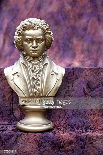 beethoven bust - beethoven stock pictures, royalty-free photos & images