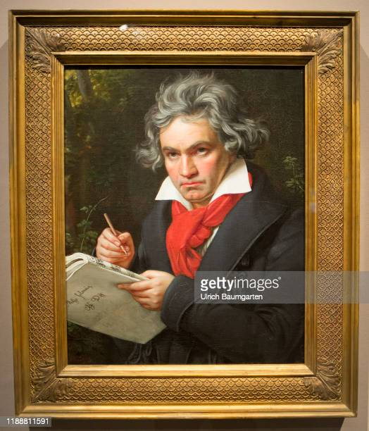 Beethoven exhibition as part of the anniversary year in the art and exhibition hall of the Federal Republic of Germany in Bonn Painting Ludwig van...