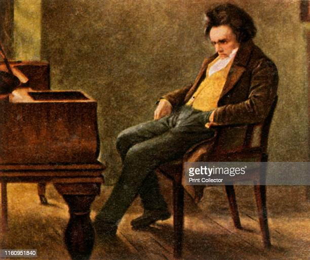 Beethoven German composer and pianist Ludwig van Beethoven one of the most recognised and influential of western composers From Bilder Deutscher...