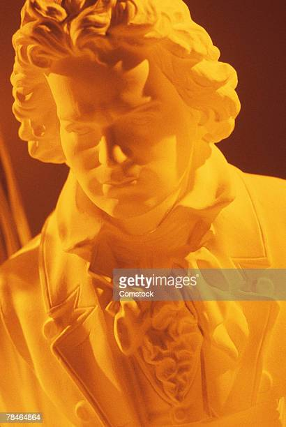beethoven sculpture - beethoven stock pictures, royalty-free photos & images