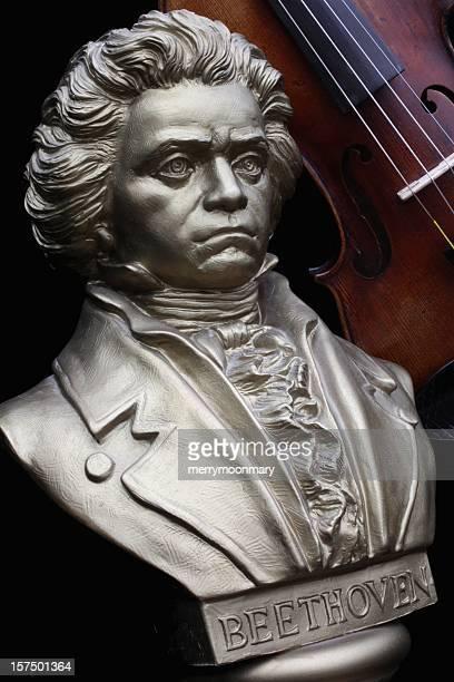 ベートーヴェン、バイオリンを演奏