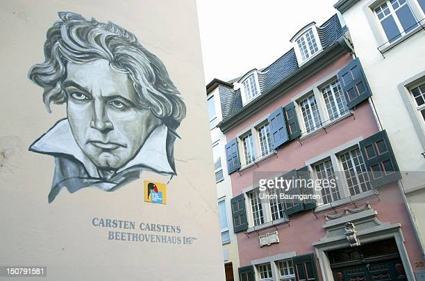 BeethovenHaus in Bonn the place where Ludwig van Beethoven was born