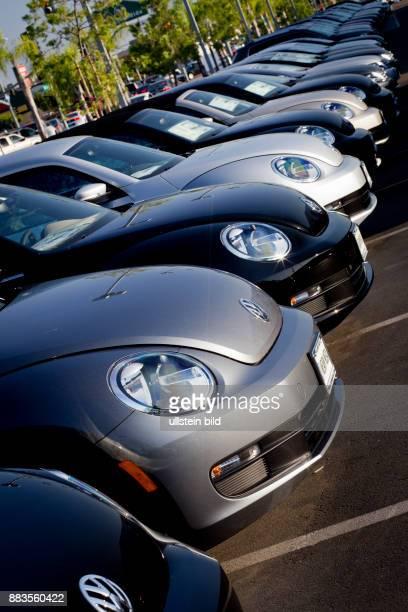 Vw Kearny Mesa >> Beetle At Volkswagen Dealership Pictures Getty Images
