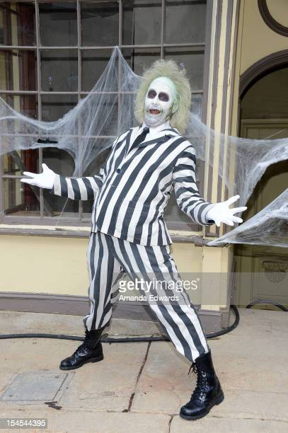 Beetlejuice attends the Camp Ronald McDonald For Good Times 20th Annual Halloween Carnival at Universal Studios Backlot on October 21 2012 in...