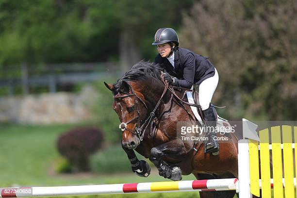 Beezie Madden riding Breitling LS in action during the $100000 Empire State Grand Prix presented by the Kincade Group during the Old Salem Farm...