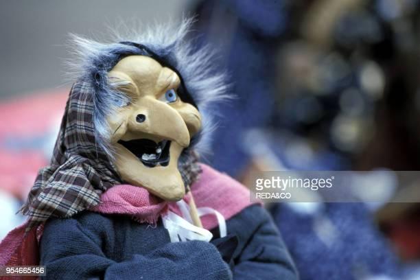 Befana's puppet Milan Lombardy Italy