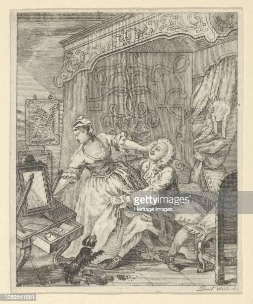 Before, 1790-1810. Artist Dent.