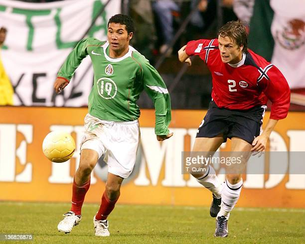 Before a partizan crowd of over 45000 in Monster Park San Francisco on January 25 2006 the Mexican World Cup national team defeated Norway 21 Jose...