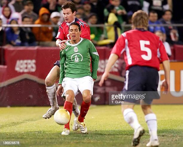 Before a partizan crowd of over 45000 in Monster Park San Francisco on January 25 2006 the Mexican World Cup national team defeated Norway 21 Petter...