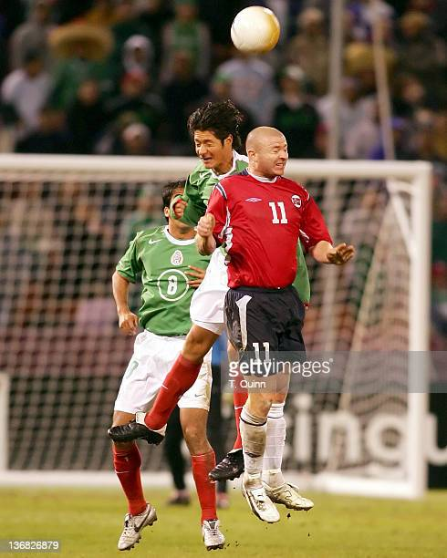 Before a partizan crowd of over 45000 in Monster Park San Francisco on January 25 2006 the Mexican World Cup national team defeated Norway 21 Raymond...