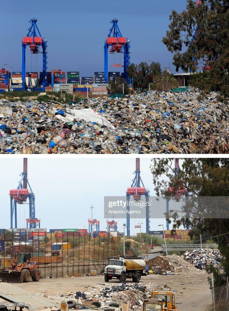 Lebanons Garbage Crisis : News Photo