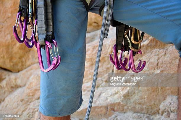 Before climbing