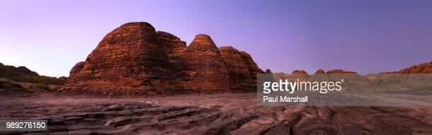 Before dawn along Picaninny Creek in Purnululu NP Western Australia