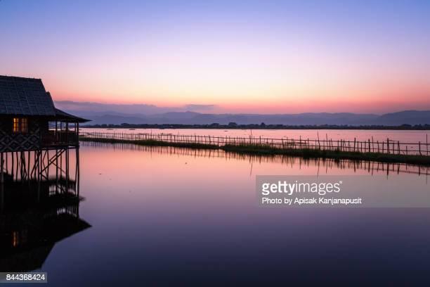 Before Sunrise at Inle Leak, Shan State, Myanmar