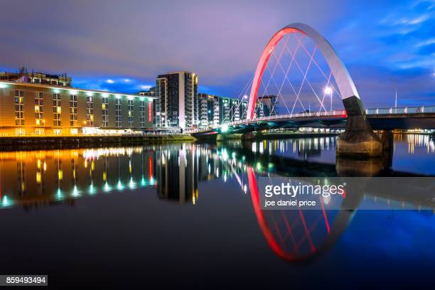 Before Sunrise, Clyde Arc, Glasgow, Scotland