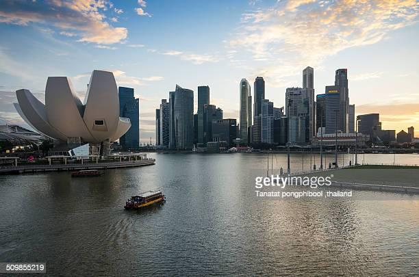 Before Sunset at Marina Bay, Singapore