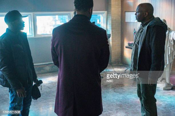 D Before the Fall Episode 717 Pictured LaRoyce Hawkins as Kevin Atwater Steve Harris as Brian Rochester