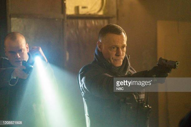 D Before the Fall Episode 717 Pictured Stephen Louis Grush as Paul Staples Jason Beghe as Hank Voight