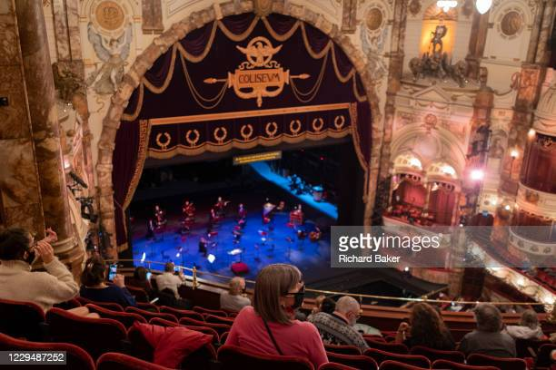 Before the latest announcement by Boris Johnson, about a second Coronavirus pandemic lockdown, opera-lovers await the start of a rehearsal of the...