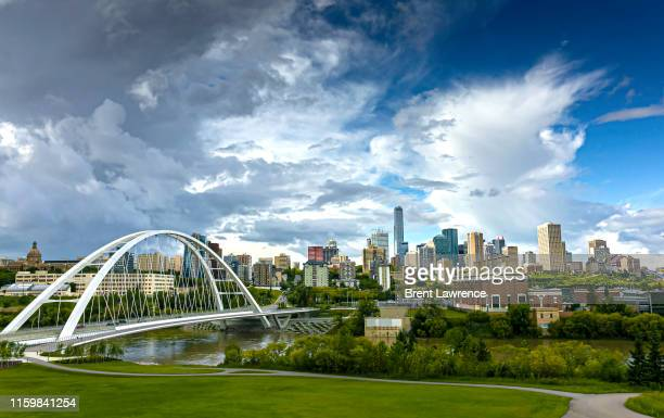 before the rain - alberta stock pictures, royalty-free photos & images