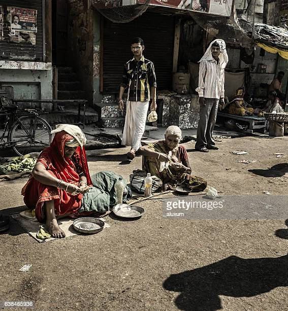Beggards in Varanasi India