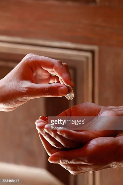 Beggar's hands